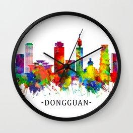 Dongguan China Skyline Wall Clock
