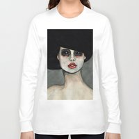 three of the possessed Long Sleeve T-shirts featuring Possessed by Lisa Kelsall
