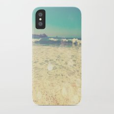 Summertime at the Beach Slim Case iPhone X