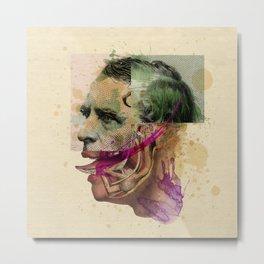 The Joker II Metal Print
