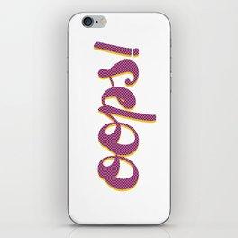 Oops Pop Art iPhone Skin