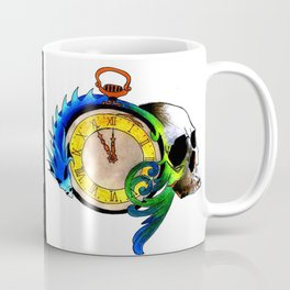 Skull and dragon Coffee Mug