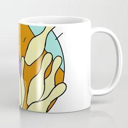 Ten Pin Bowling Strike Drawing Coffee Mug