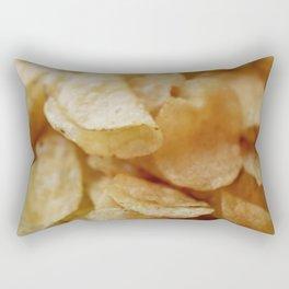 Potato Chips Rectangular Pillow