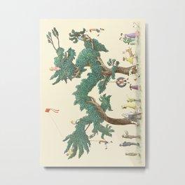 The Night Gardener - The Dragon Tree Metal Print