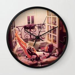 Sweet afternoon Wall Clock