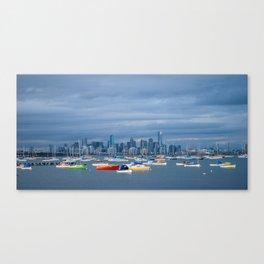 Hobsons Bay Canvas Print
