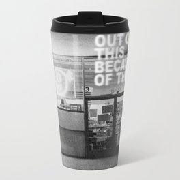 Born Into This Metal Travel Mug