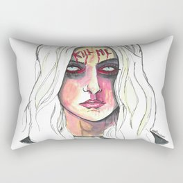 Kill Me Rectangular Pillow