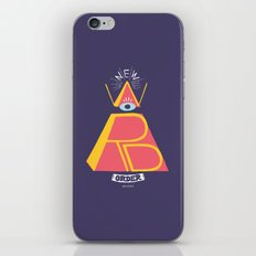 New Word Order! iPhone Skin