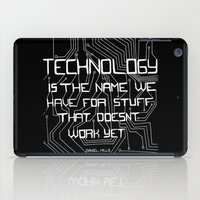 technology iPad Cases featuring Technology by Hollie B
