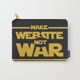 make website not war Carry-All Pouch