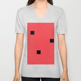 Watermelon in the style of Malevich, version 2 Unisex V-Neck