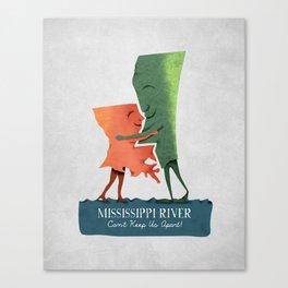 Louisiana Woman, Mississippi Man Canvas Print