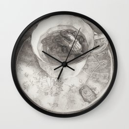 Teacup Octopus Wall Clock