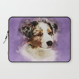 Australian Shepherd - Aussie Puppy Laptop Sleeve