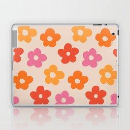 Retro 60s 70s Flowers Pattern #pattern #vintage Laptop & iPad Skin