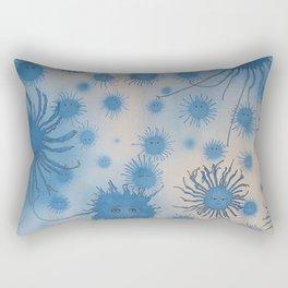 In Blue Rectangular Pillow