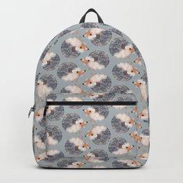 Hedgehogs Pattern Backpack