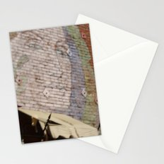 Paint Brick Face Stationery Cards