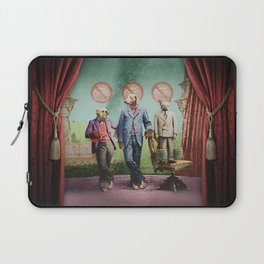 The Three Distinguished Members of the Committee to Handle the Squirrel Problem Laptop Sleeve