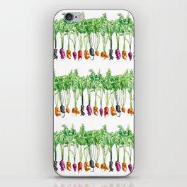 Funky Vegetables iPhone Skin