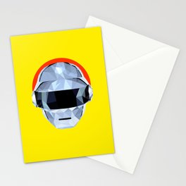 Daft Low Poly Punk Stationery Cards