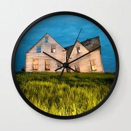Family Homestead Wall Clock