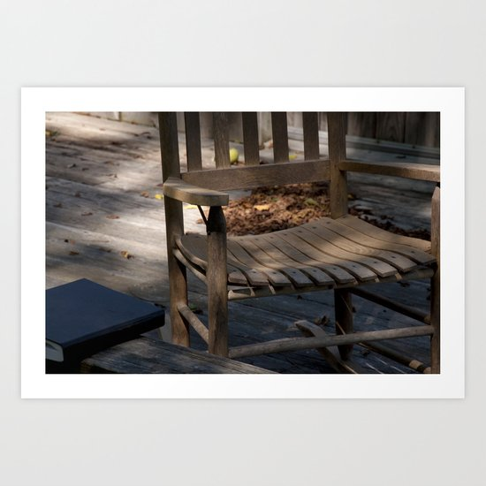 A place to Study Art Print