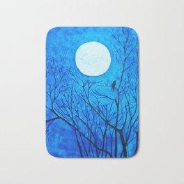 The Ravens Wood Raven Abstract Print Bath Mat