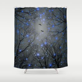 The Sight of the Stars Makes Me Dream Shower Curtain