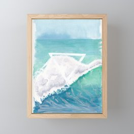 Elemental Water Framed Mini Art Print