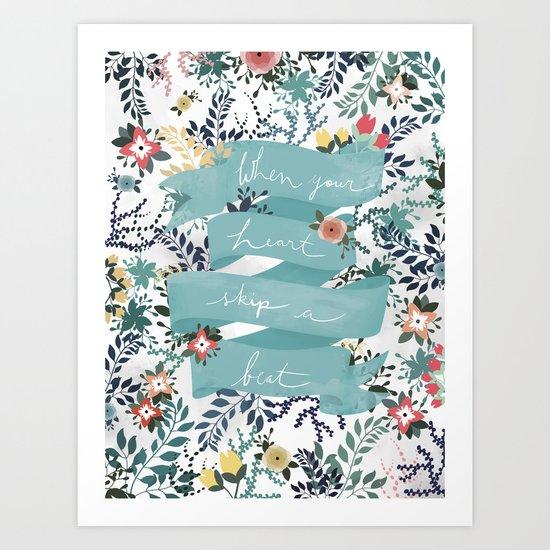 Flowers III Art Print