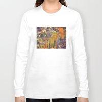 chaos Long Sleeve T-shirts featuring Chaos by BruceStanfieldArtistPainter