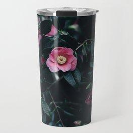 Flowers-Camelias Travel Mug