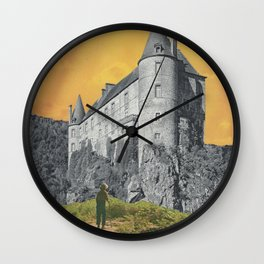 Uncovering the Old Wall Clock