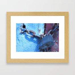 Lockdown  Framed Art Print