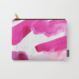 Pink Abstract I Carry-All Pouch