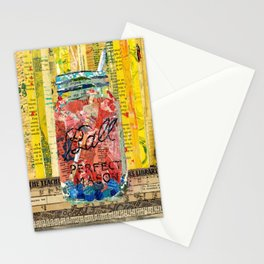 Sangria mason Jar Stationery Cards
