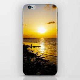 Seashore Serenity at Sunset iPhone Skin