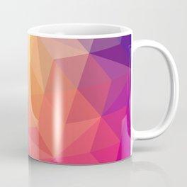 Happy Color Print Geometric Shapes Coffee Mug