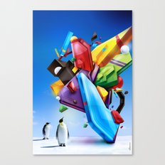 Chromata Canvas Print