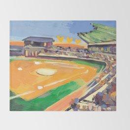 LSU Softball Throw Blanket