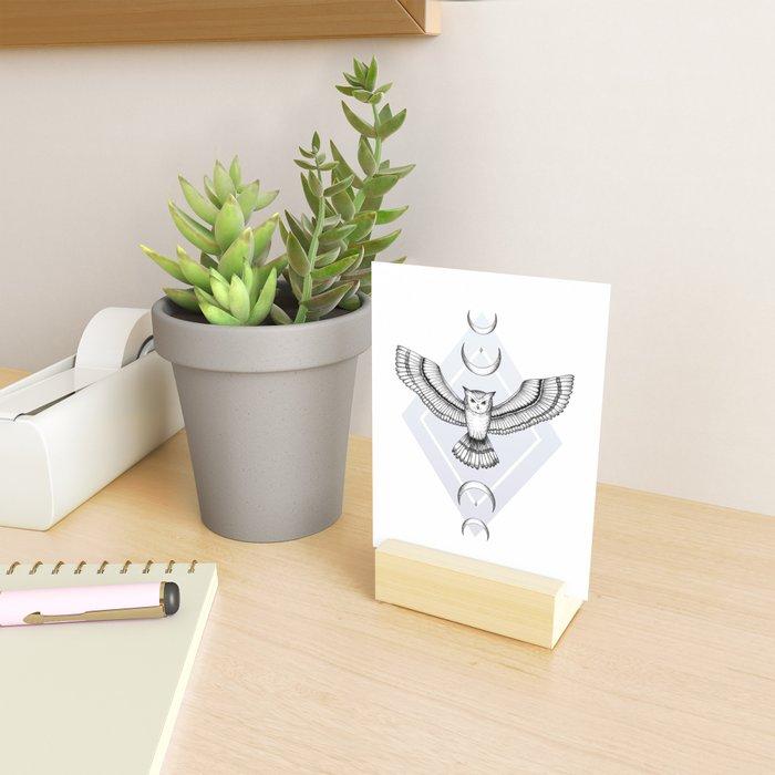 Mystic Owl Mini Art Print