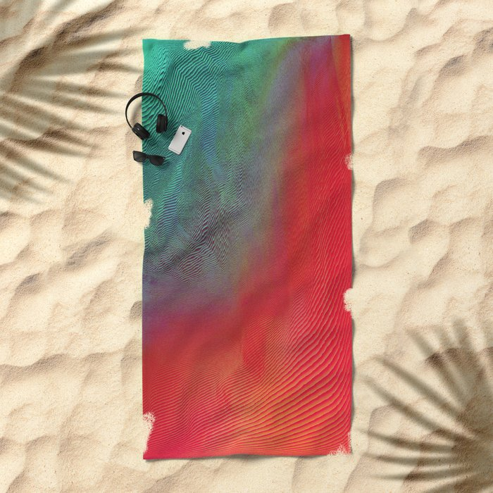 Feels Tropical Good Beach Towel