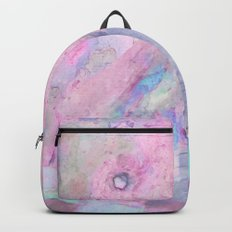 Soft Color Mermaid Style Backpack