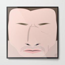 Blake Shelton – Square:icature™ Metal Print