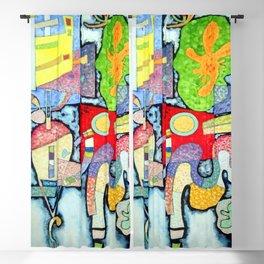 Wassily Kandinsky Complex Simple Blackout Curtain