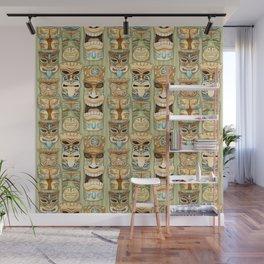 Tropical Hawaiian Deluxe Tiki Party Pattern Wall Mural