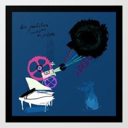 Chapi Chapo - Les Petites Musiques de Pluie  Art Print
